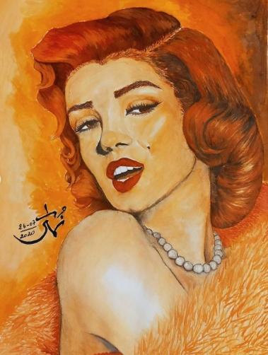 Marilyn Monroe par MeddebNouha